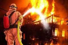 Gedung Farmasi RS Mintoharjo terbakar